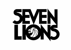 Details about Seven Lions Sticker EDM EDC BPM TRAP TOMORROWLAND ULTRA MUSIC  HOUSE