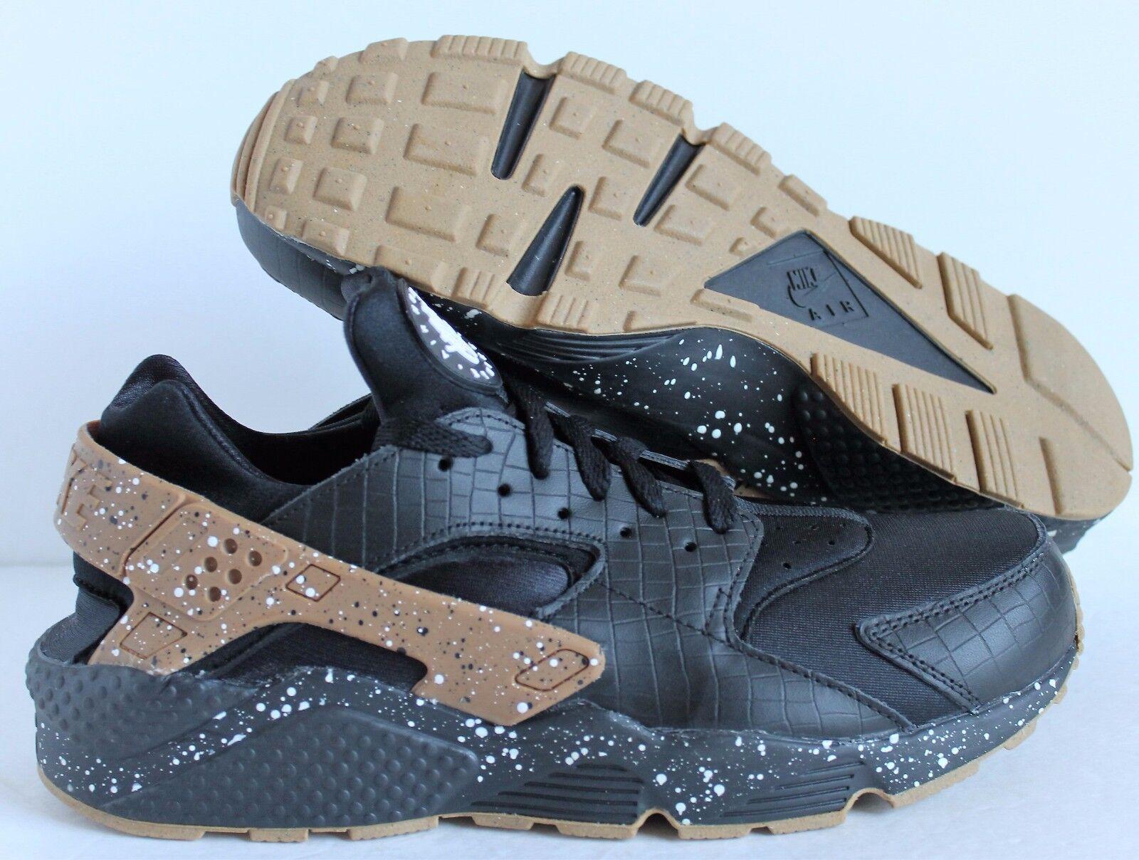 Nike Men'S Air Huarache Premium ID Black-Brown SZ 11.5  [777330-997]