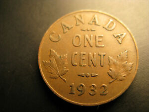 Canada-1932-Small-Cent-Penny