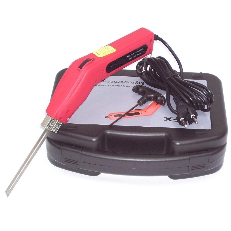 Styroporschneider 200mm + N26 Nutenschneide Styroporschneidegerät mit Koffer