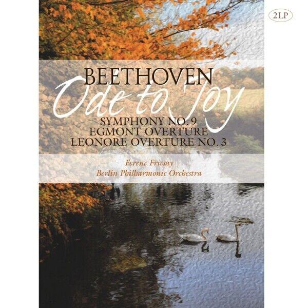 SINFONIE 9/EGMONT OVERTURE/LEONORE OVERTURE - BEETHOVEN,L.VAN  2 VINYL LP NEW!