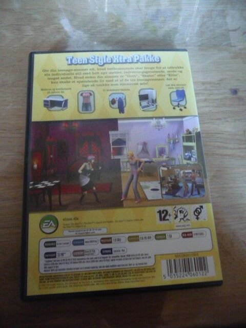 The Sims 2 Teen Style, til pc, anden genre