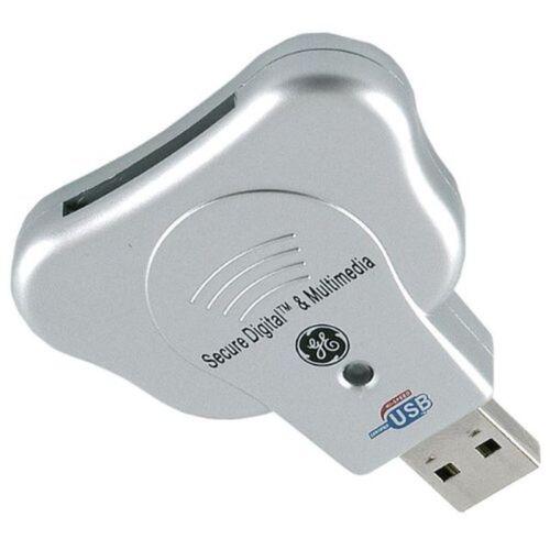 GE 2.0 USB Secure Digital /& Multimedia Card Reader Writer 97931