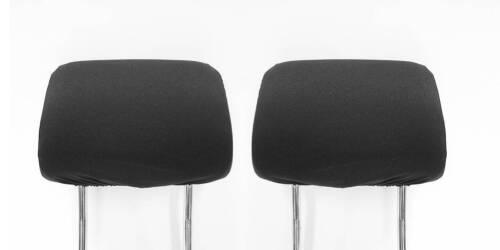 Kopfstützen Autositz Kopfstützenbezüge für FORD Focus Mondeo Escort Schwarz Ovp