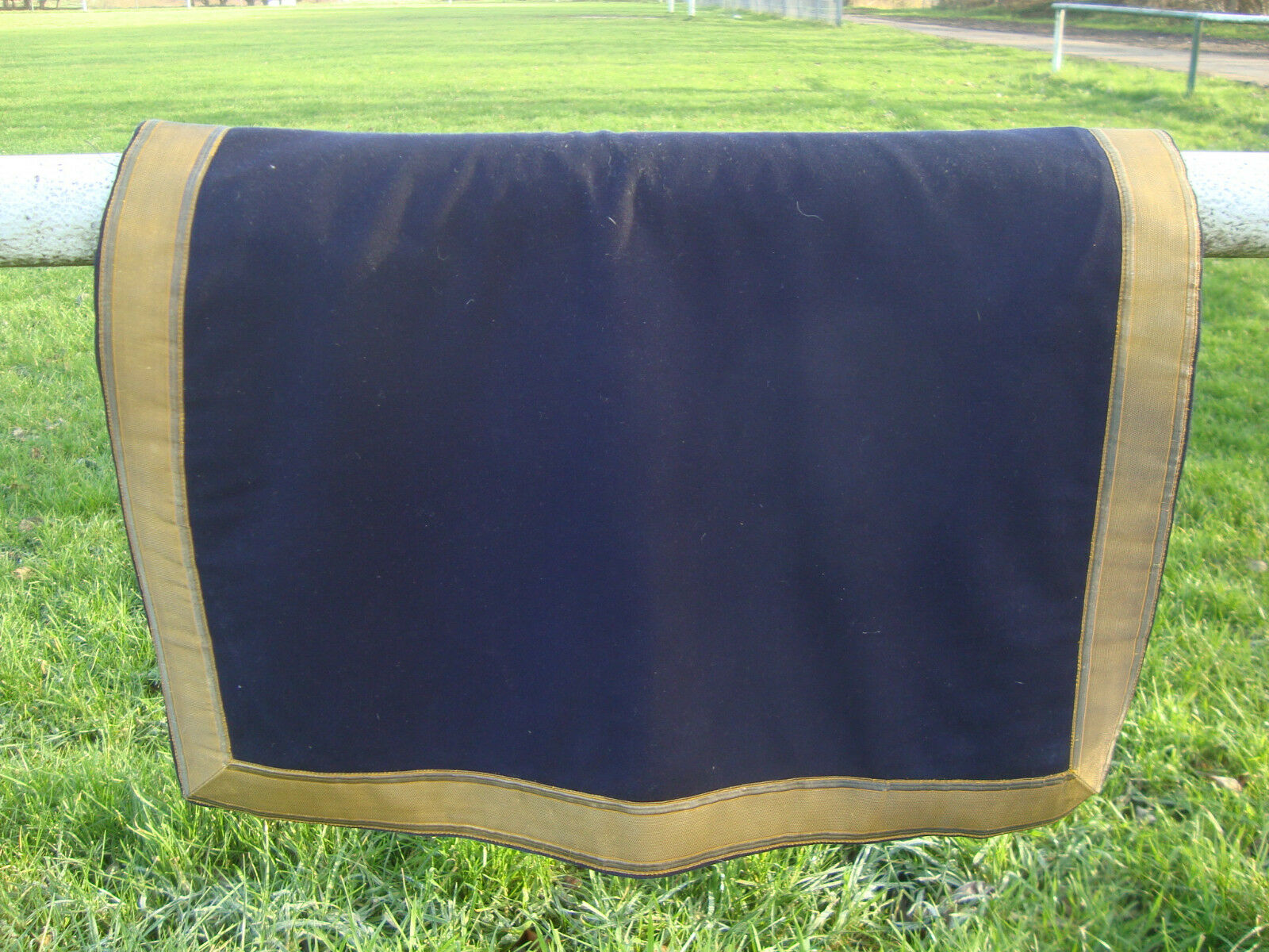 Inglaterra militar schabrake sillín manta caballo household cavallery Horse Guard