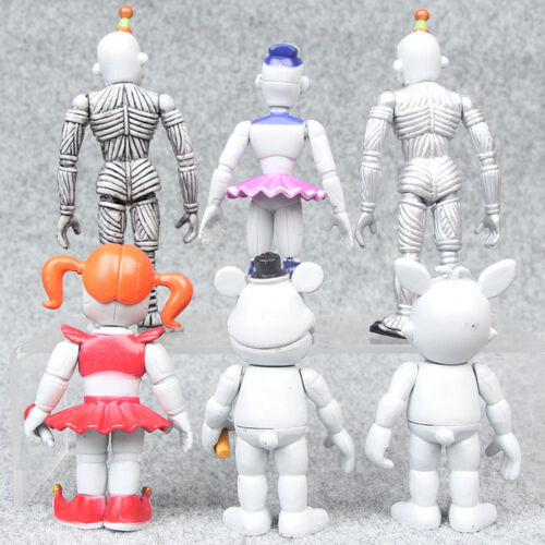 Five Nights At Freddy/'s 6 PCS FNAF Action Figures PVC Dolls Decoration Kid Toys
