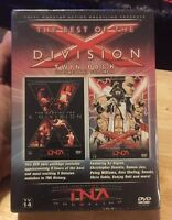 Tna Wrestling - The Best Of The X Division (dvd, 2006, 2-disc Set) Rare Wwe