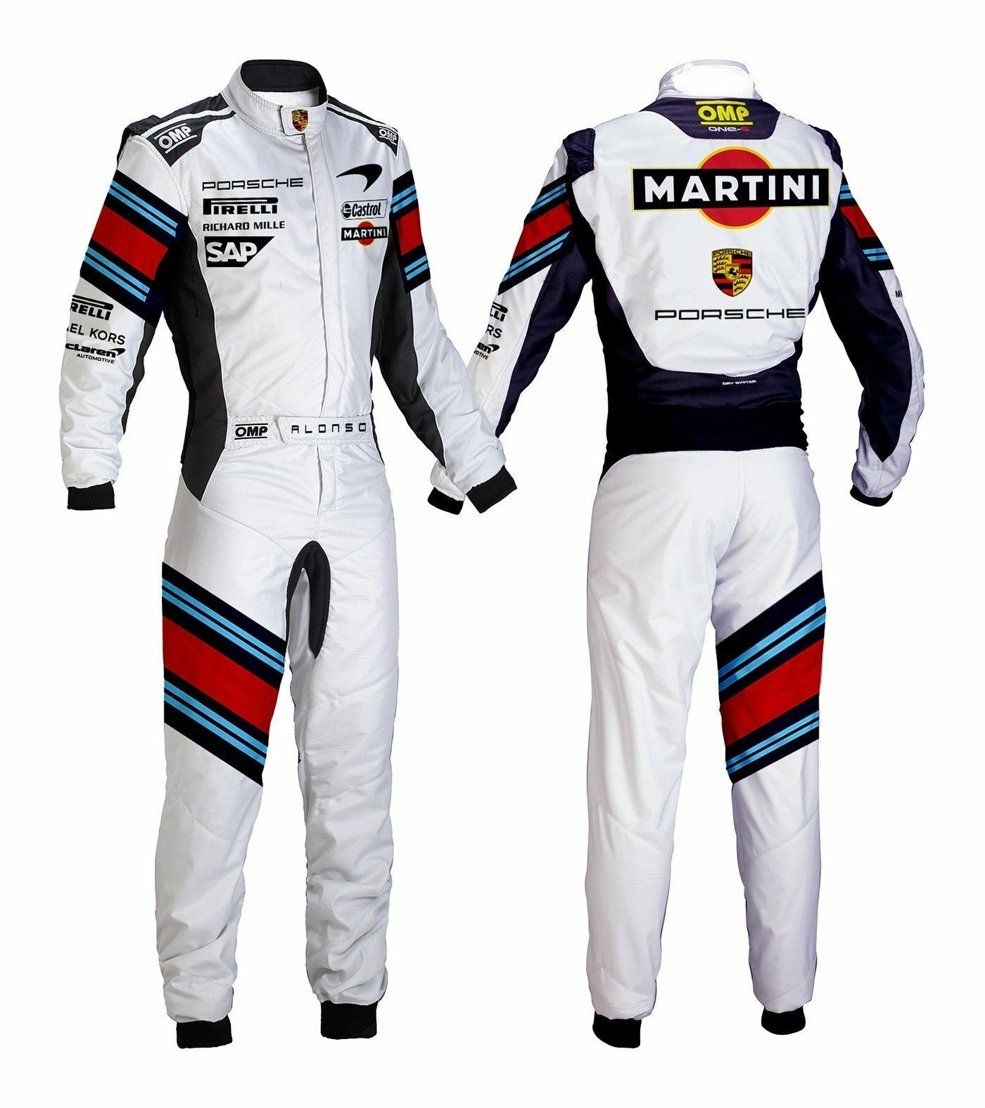 MARTINI GO KART RACING SUIT CIK FIA LEVEL  II APPROVED (SUBLIMATION PRINTING)  80% off