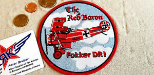 Patch-ROTE-BARON-Richthofen-Avion-Aircraft-Yakair-WW1