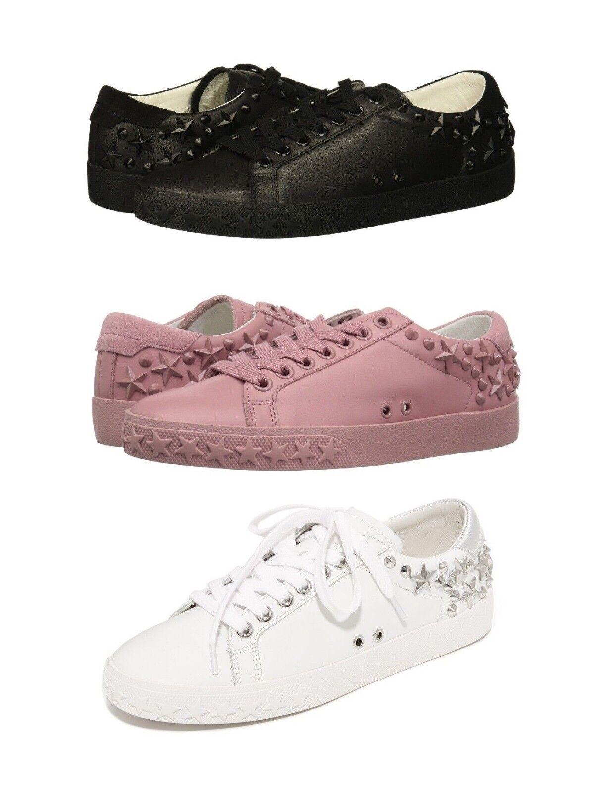 presentando tutte le ultime tendenze della moda NEW ASH AS DAZED Star Star Star Studs nero rosa bianca Donna  Fashion scarpe da ginnastica scarpe  acquista la qualità autentica al 100%