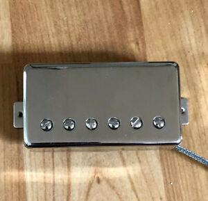 Seymour-Duncan-Seth-Lover-SH-55-Bridge-Humbucker-Guitar-Pickup-Zebra-Nickel-PAF
