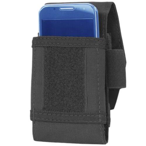 Condor 191085 Black MOLLE PALS Smart Phone Plus Tech Sheath Utility Pouch Case