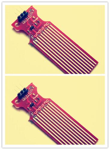 2pcs Water Level Sensor Depth of Detection Water Sensor for Arduino YR