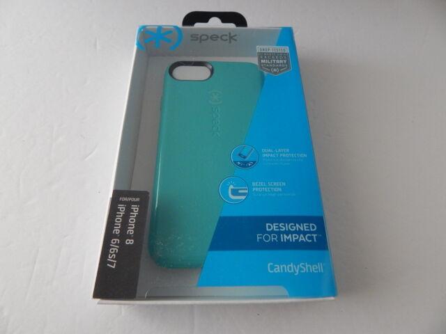 newest b5ecf 761ae Speck CandyShell Case iPhone 8 JEWEL Teal Mykonos Blue