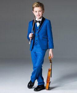 5c2454eeb Best Man Wedding Suits Kids Children's Groomsman Best Man Tuxedo ...