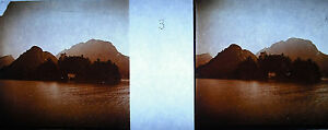 Photography Rives Of Lake D'Annecy Towards 1920