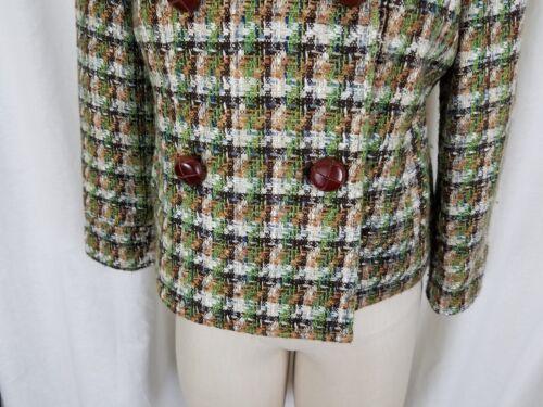 'pata Gallo' Fillmore Tweed De Diseño Chaqueta Ombligo El Hasta PzgqgE