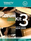 Drum Kit 2014-2019 Book 3 Grades 5 & 6 by Trinity College London (Mixed media product, 2013)
