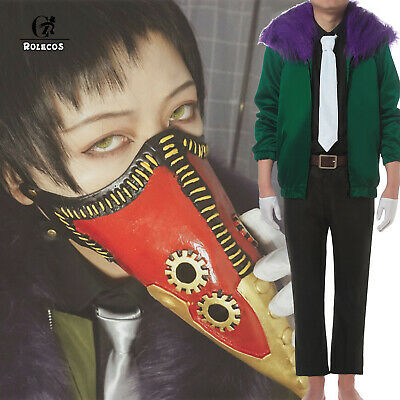My Hero Boku no Hero Academia Overhaul Kai Chisaki Cosplay Jacket Coat Costume