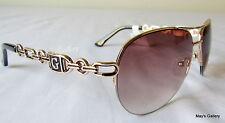 Guess  Jeans Sun Glasses Glass SunGlasses Eyewear  Gold  GU 0257  W NIB