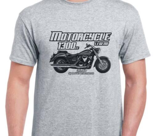 Yamaha XVS1300A Midnight Star 2007 inspired motorcycle bike shirt tshirt