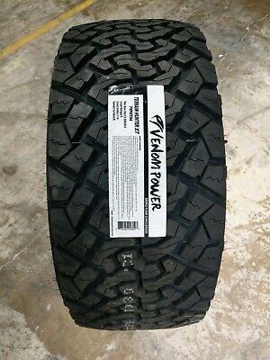 All Terrain Tires >> 33x12.50R20LT Venom Power TERRAIN HUNTER X/T 114R 10PLY LOAD E (SET OF 4) 778469008027 | eBay