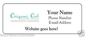 60 personalized origami owl jewelry consultant address catalog