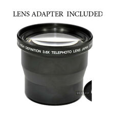 3.6X TELEPHOTO LENS FOR KODAK EASYSHARE P850 P712