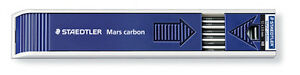 Staedtler-Mars-Carbon-Leads-2mm-for-Lead-Holder-Clutch-Pencils-Tube-of-12
