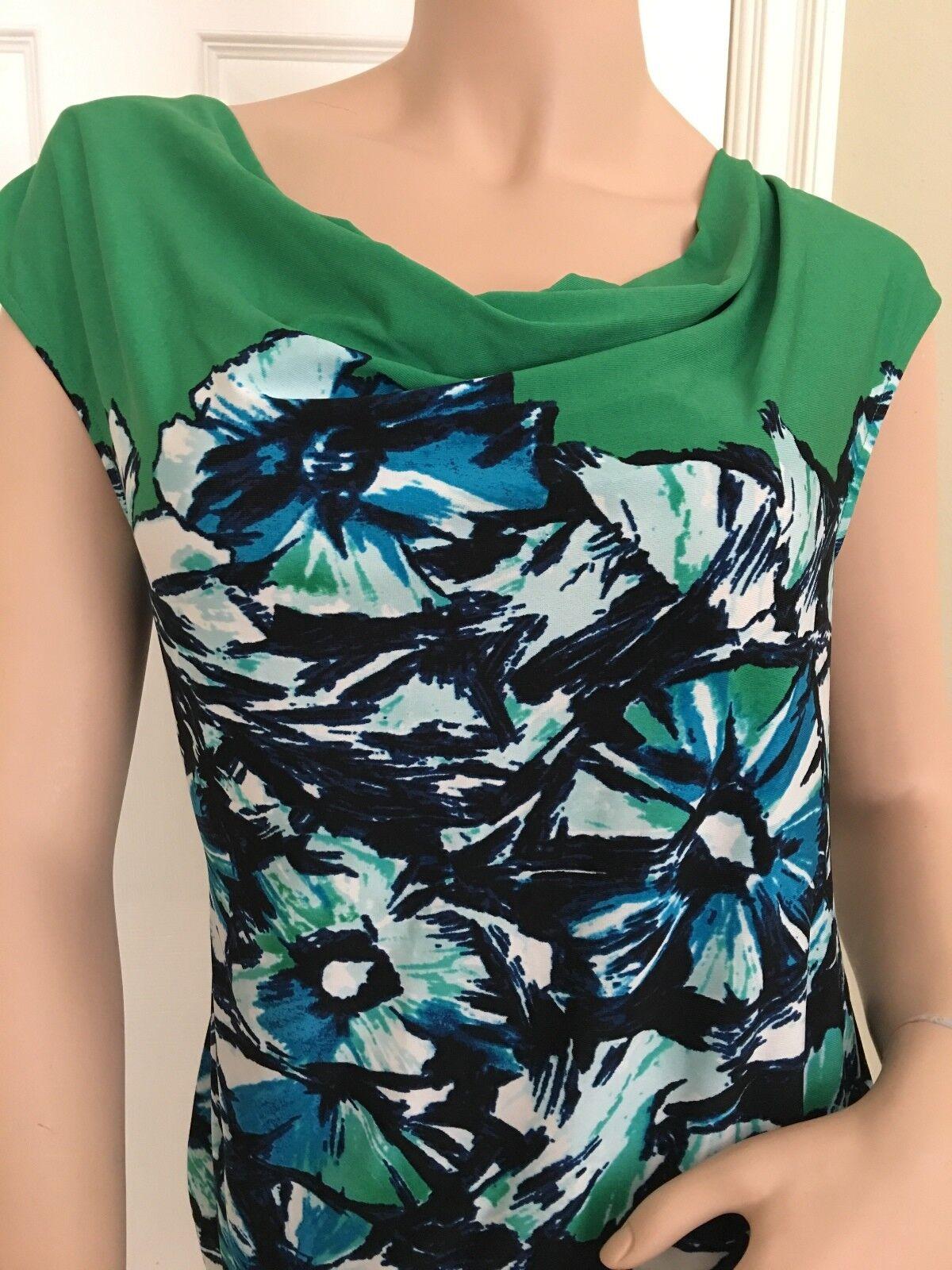 Bcbgmaxazria Smaragd   Kombination Freizeitkleid Freizeitkleid Freizeitkleid Größe S Msrp | Marke  | Schönes Design  | München Online Shop  f4e89a