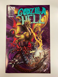 IDW-GODZILLA-IN-HELL-ISSUE-4-NM-CONDITION-SUB-COVER