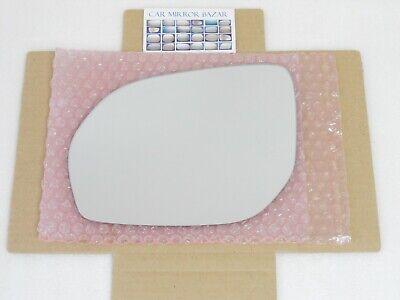 Mirror Glass For 13-16 Hyundai Santa Fe Passenger Side Replacement