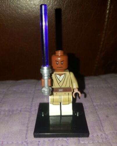 Authentic LEGO Star Wars Mace Windu Minifigure sw479 75019 Jedi Master Minifig