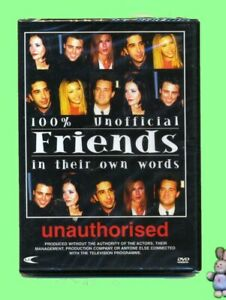 Friends-In-Their-Own-Words-Unauthorised-DVD-New-Sealed-UK-Documentary