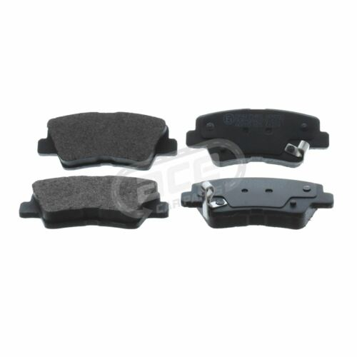 SUV 8//2011-/> 2.0 2.2 Rear Brake Pads Set W100-H41-T15.5 Ssangyong Korando ATV