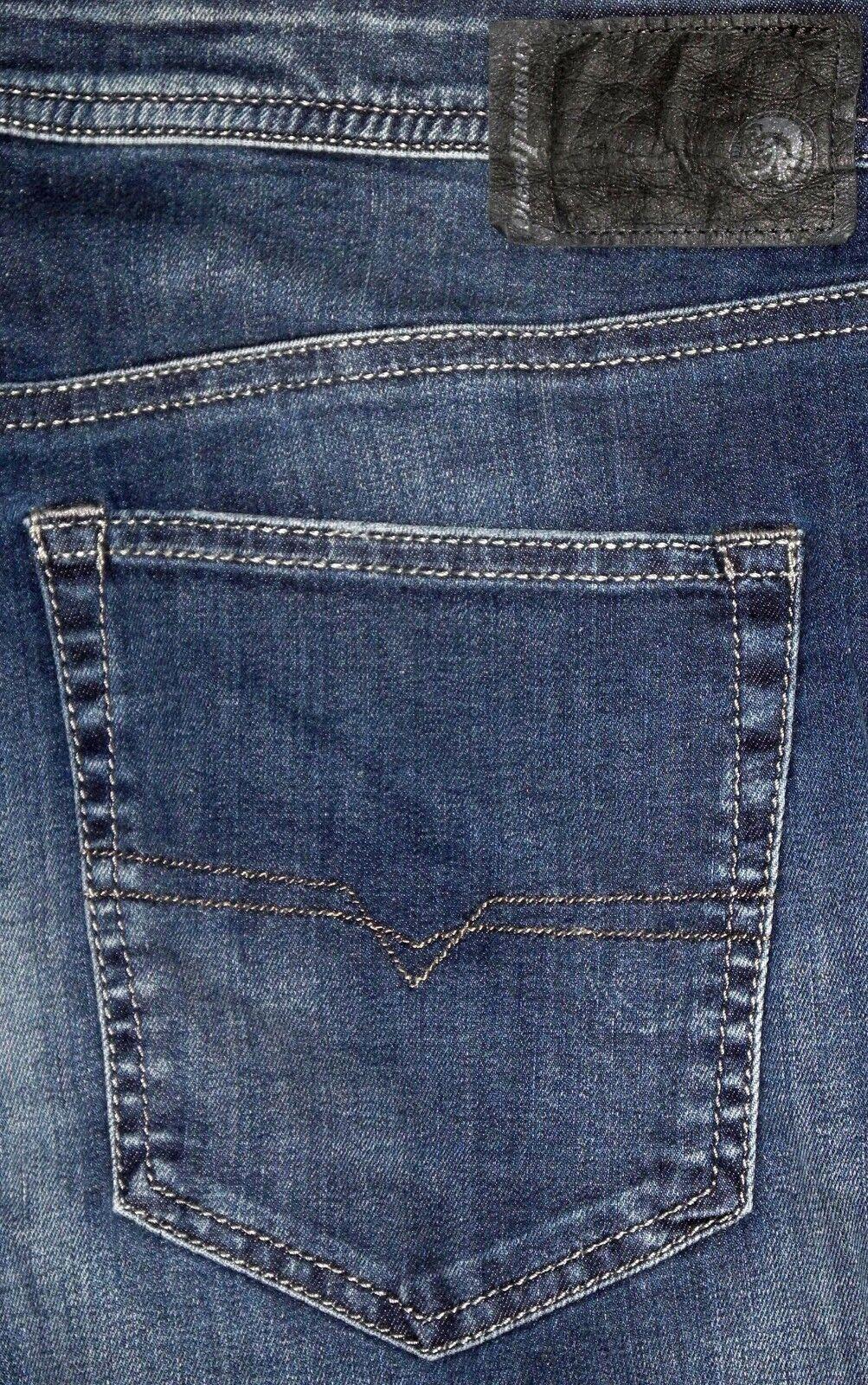 NEW Diesel Buster Regular Fit Tapered Leg Men's bluee Jeans Sz. 40x32