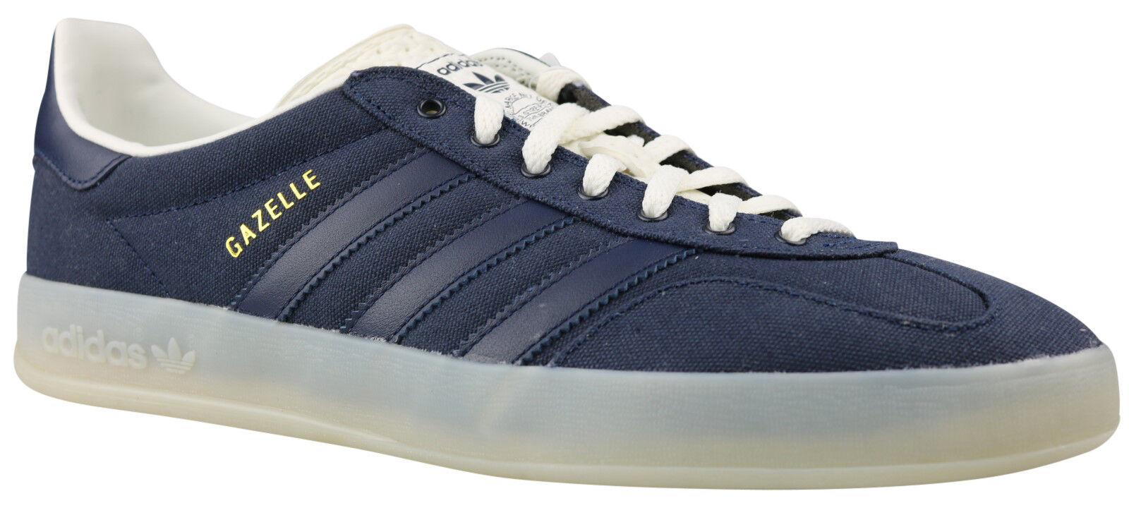 Adidas Originals gacela indoor calcetines cortos zapatos s74850 azul Gr. 42 nuevo embalaje original