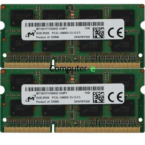 Micron-16GB-KIT-2X-8GB-PC3L-14900S-DDR3-1866MHZ-1-35v-SO-DIMM-Laptop-Memory-RAM