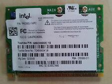 lot of 10 intel pa3362u toshiba m2 m3 g86c0000x310 Wifi MiniPCI cards