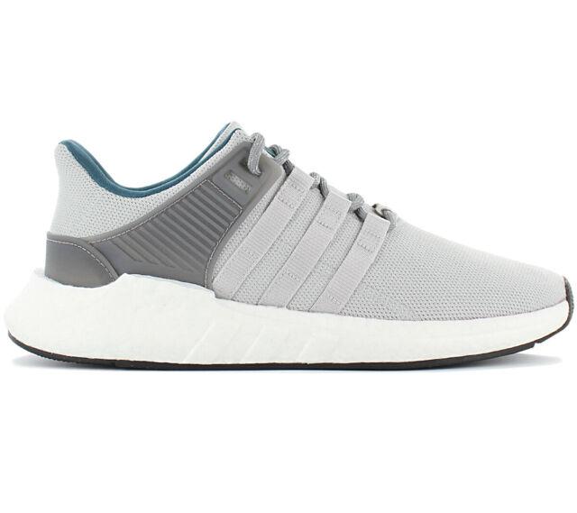 medios de comunicación Simplemente desbordando Dar permiso  adidas Originals EQT Support 93/17 Boost Grey Men Running Shoes ...
