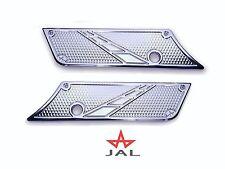 JAL Custom Chrome Saddlebag Latch covers Harley Bagger 93-13 touring