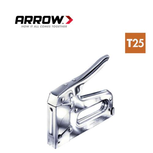 Arrow Fastener modèle T25 Low Voltage Wire /& Câble Agrafeuse NEUF
