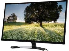 "LG 32MP58HQ-P Black 31.5"" FHD IPS Widescreen LED Backlight Monitor 5ms 1920 x 10"
