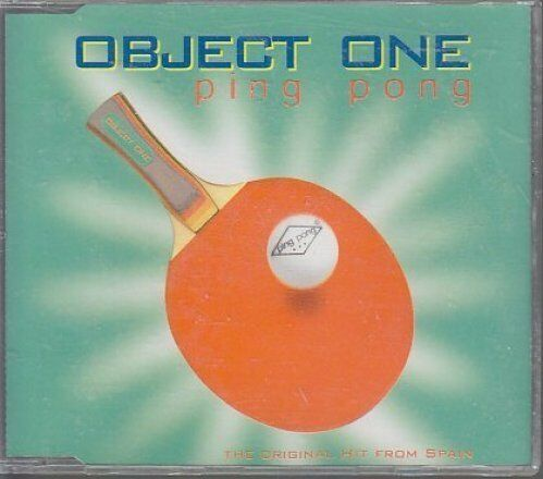 Object One Ping pong (incl. Fast Remix Track, 1996) [Maxi-CD]