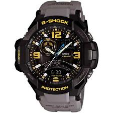 CASIO G-Shock G-Aviation Watch Gray Band GA1000-8A Water Resistant