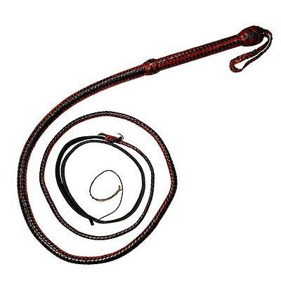 8ft Bullwhip Beginner Nylon Whipcracking Whip Nylon Bull Whip