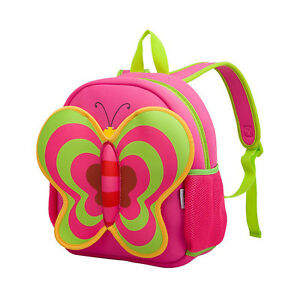 Kiddi Choice Wetsuit Neoprene Butterfly Backpack Gift ,Pink