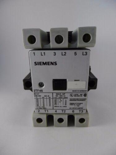 Siemens 3TF46 Leistungsschütz Schütz 3TF4622-0BB4