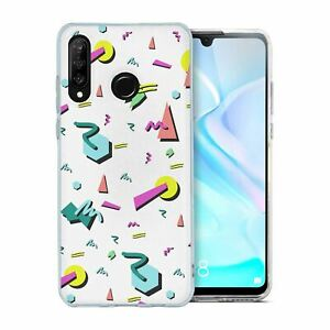 For-Huawei-P30-LITE-Silicone-Case-Retro-90s-Pattern-S6313