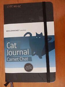 Bien Moleskine Carnet Chat Cat Journal Neuf, 13 X 21 Cm.